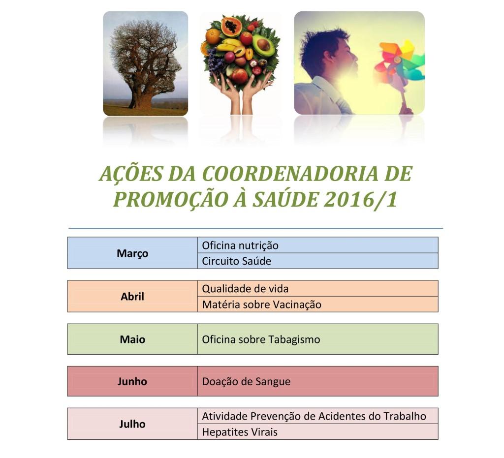 Promoção- Calendário 2016.1