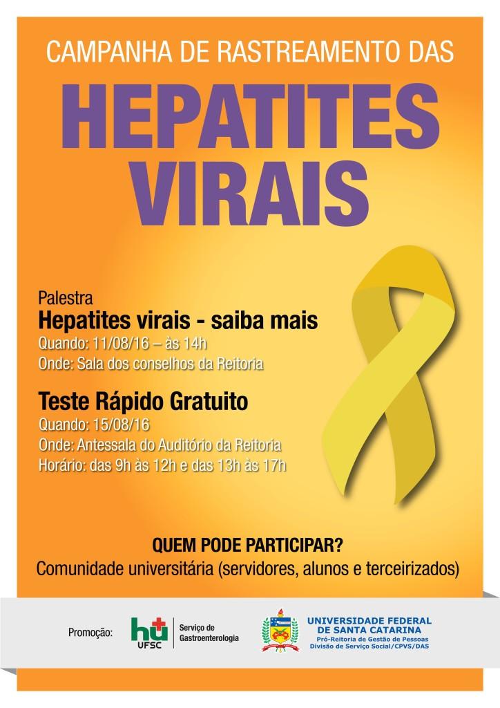 Cartaz - Hepatites Virais