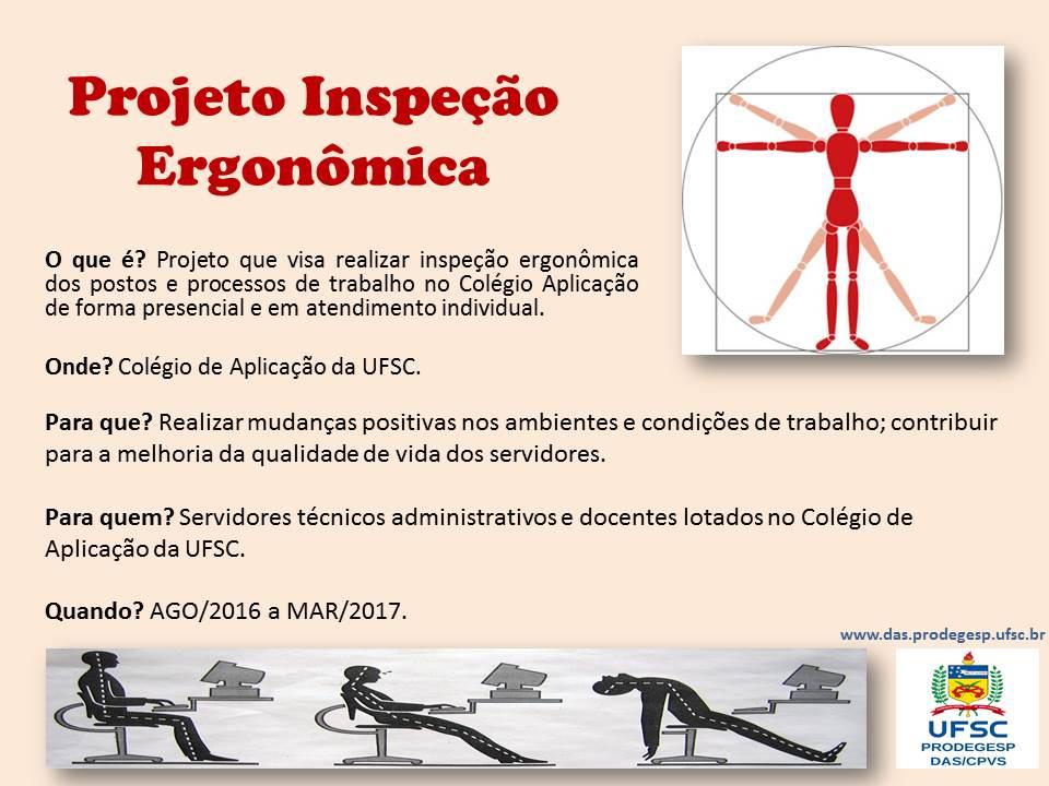 Inpeção Ergonomica - Colegio de Aplicacao